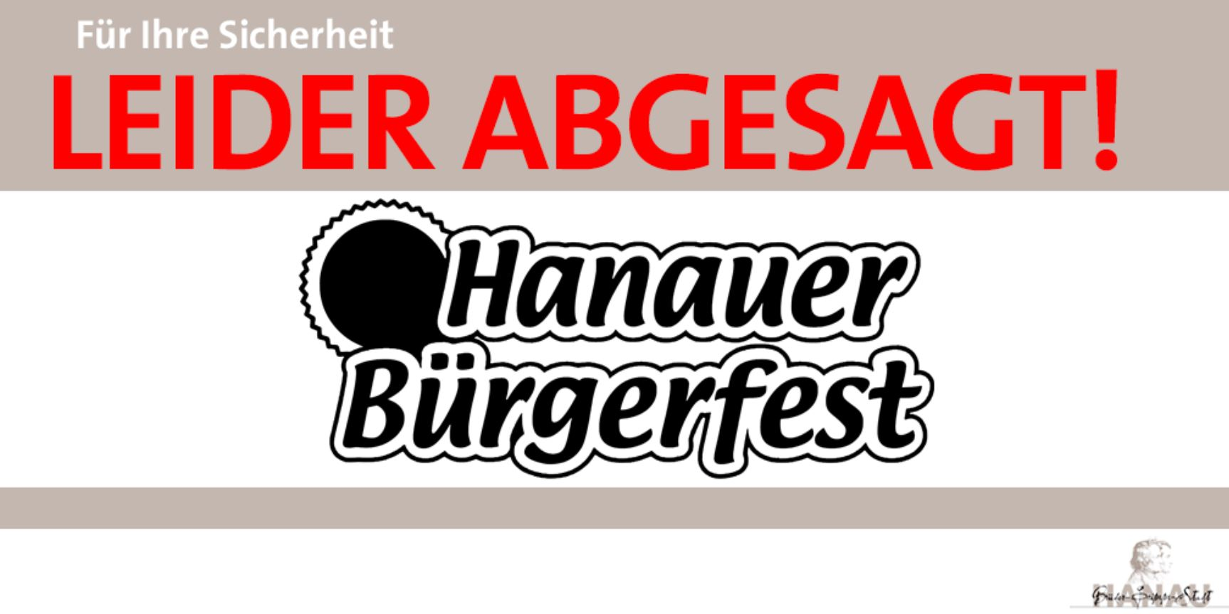 Buergerfest Absage